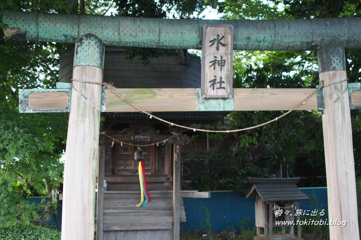 見沼たんぼ 水神社