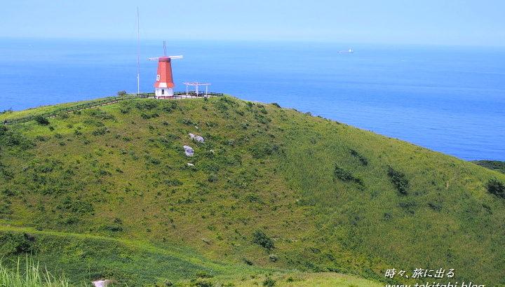 「宗像大島」へ日常を忘れる小さな船旅、沖津宮遙拝所から玄界灘を望む【福岡県】