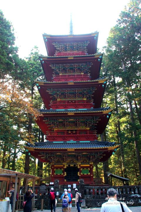 日光東照宮 五重の塔