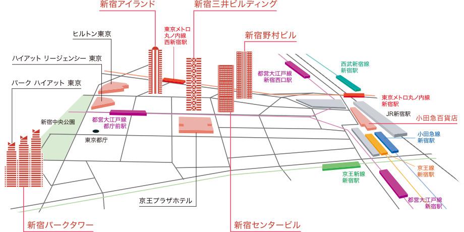 西新宿マップ