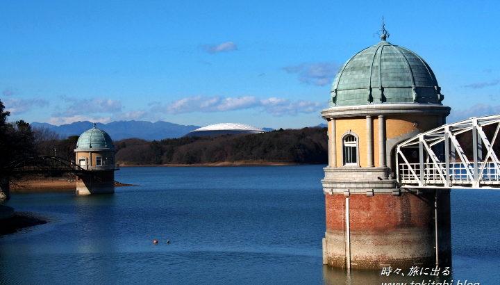 志村けんも歌った【多摩湖】は、武蔵野の自然の中にある美しい湖です