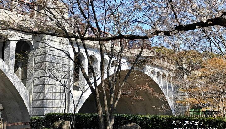 王子「音無親水公園」は江戸百景にもなった景勝地、満開の桜が美しい【東京都北区】