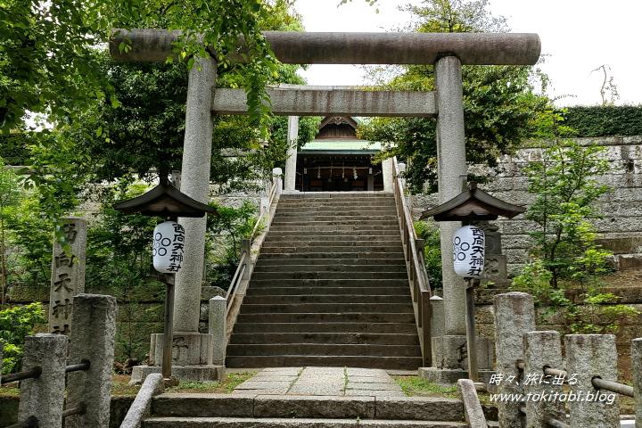 新宿 西向天神社