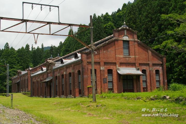 群馬県 アプトの道 旧丸山変電所