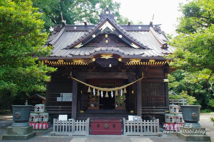 加須 玉敷神社