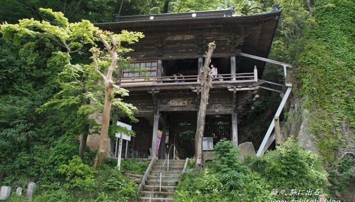 吉見町「岩室観音堂」は懸造りで迫力!ハート型の胎内くぐりも【埼玉県】